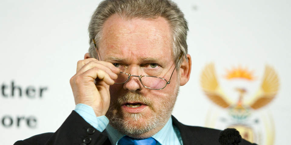 DTI Minister Dr Rob Davies speaks about the Black Industrialist & Agro-Processing Programmes