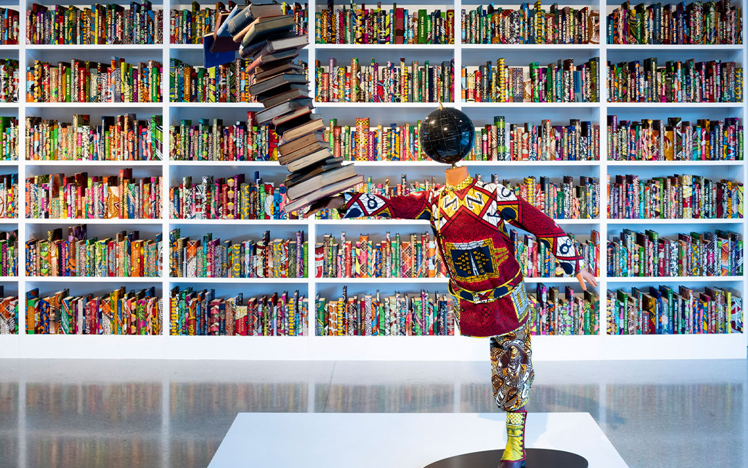 Yinka Shonibare celebrates African culture and identity