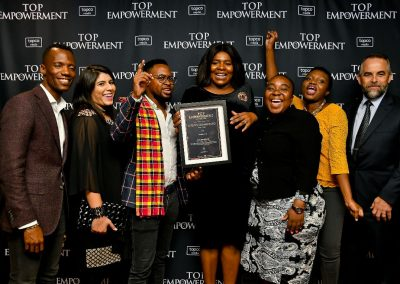 Top Empowerment Awards - Award winners_Banner wall-10
