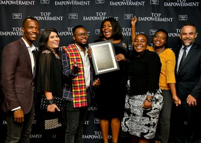 Top Empowerment Awards - Award winners_Banner wall-11