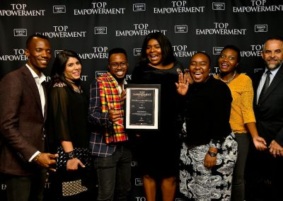 Top Empowerment Awards - Award winners_Banner wall-15