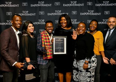 Top Empowerment Awards - Award winners_Banner wall-16