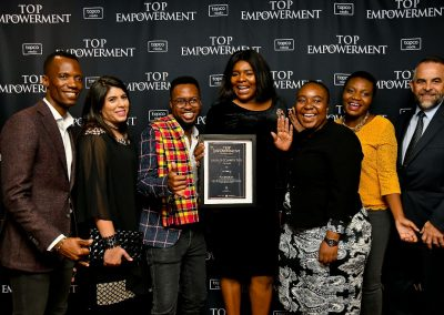 Top Empowerment Awards - Award winners_Banner wall-17
