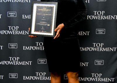 Top Empowerment Awards - Award winners_Banner wall-23