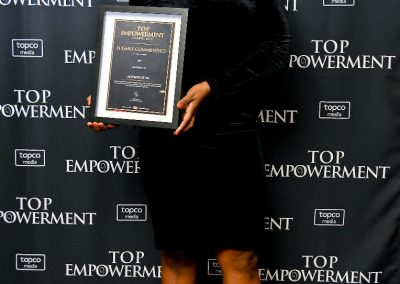 Top Empowerment Awards - Award winners_Banner wall-24