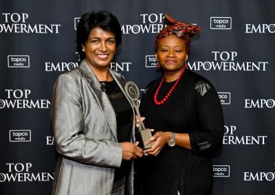 Top Empowerment Awards - Award winners_Banner wall-3
