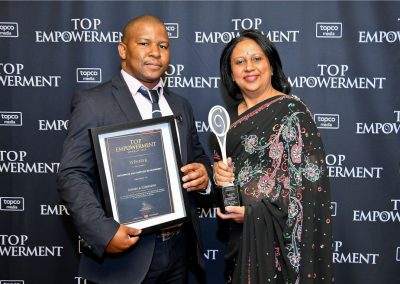Top Empowerment Awards - Award winners_Banner wall-4