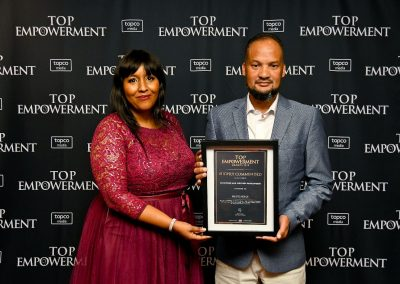Top Empowerment Awards - Award winners_Banner wall-48
