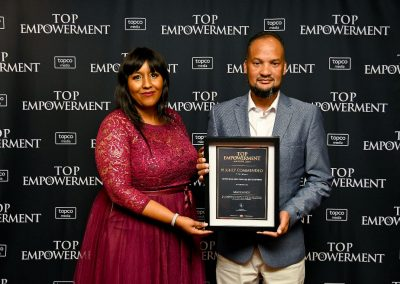 Top Empowerment Awards - Award winners_Banner wall-49