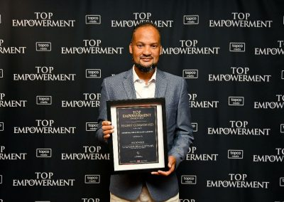 Top Empowerment Awards - Award winners_Banner wall-50
