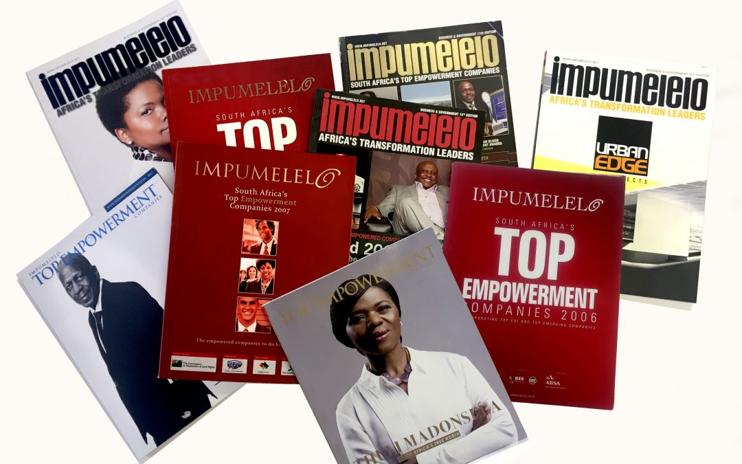 Top Empowermens's Impumelelo through the years