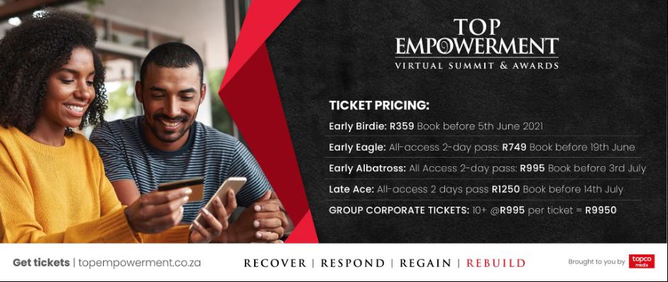 Top Empowerment Tickets 2021